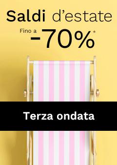 Saldi d'estate fino -70% su madeindeign